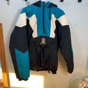 NBC sports starter jacket XL vintage 1990s NFL